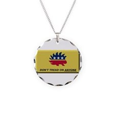 Don't Tread On Anyone Necklace