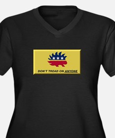 Don't Tread On Anyone Plus Size T-Shirt