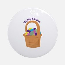 Happy Easter Ornament (Round)