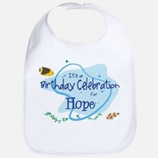 Celebration for Hope (fish) Bib