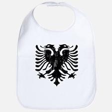 Albanian Eagle Emblem Bib
