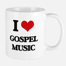 I Love Gospel Music Mugs