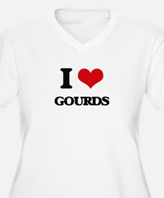 I Love Gourds Plus Size T-Shirt
