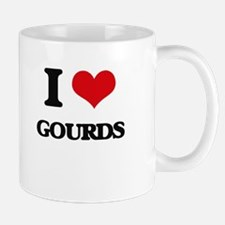 I Love Gourds Mugs