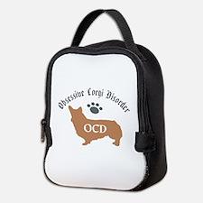 Obsessive Corgi Disorder Neoprene Lunch Bag