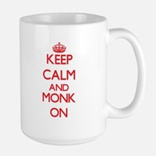 Keep Calm and Monk ON Mugs
