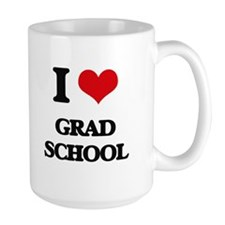 I Love Grad School Mugs