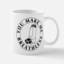 Asthma - Breathless Mugs