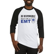 Drink with an EMT Baseball Jersey