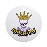 Kingpins Bowling Ornament (Round)