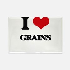 I Love Grains Magnets