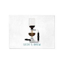 coffee science 5'x7'Area Rug