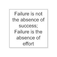 failure self-employed Sticker