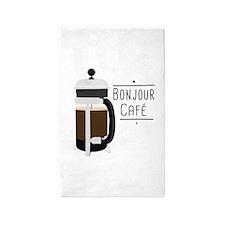 Bonjour Cafe Area Rug