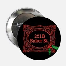 "Holmes for Christmas 2.25"" Button"
