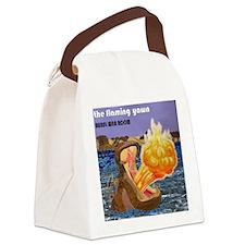 Cute Steak Canvas Lunch Bag