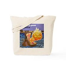 Cute Flame Tote Bag