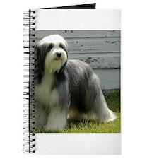 Cute Bearded collie Journal