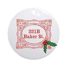 Holmes for Christmas Ornament (Round)