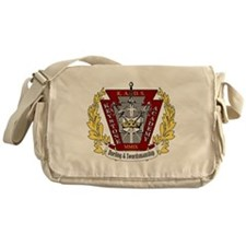 KADS Patch logo Messenger Bag
