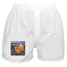 The Flaming Yawn cover by Rural War R Boxer Shorts