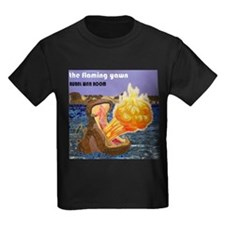 The Flaming Yawn cover by Rural War Room T-Shirt
