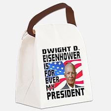 Eisenhower 4ever Canvas Lunch Bag