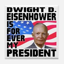 Eisenhower 4ever Tile Coaster