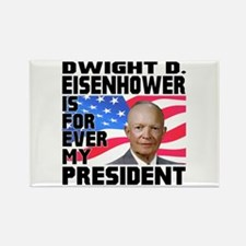 Eisenhower 4ever Rectangle Magnet (100 pack)