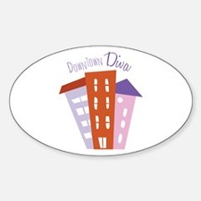 Downtown Diva Decal