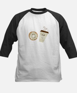 Coffee and Donut Baseball Jersey
