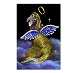 Golden Angel Postcards (Package of 8)