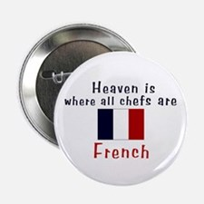 """French Chefs 2.25"""" Button (10 pack)"""