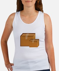 Moving Boxes Tank Top
