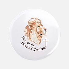 "THE LION OF JUDAH 3.5"" Button"