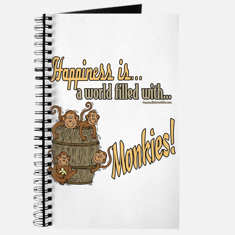 Happiness is a monkey Journal