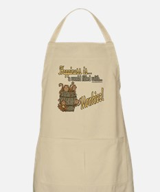 Happiness is a monkey BBQ Apron