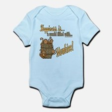 Happiness is a monkey Infant Bodysuit