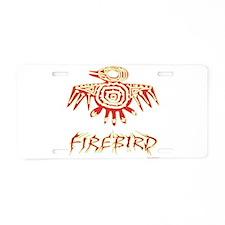 Fire Bird Aluminum License Plate