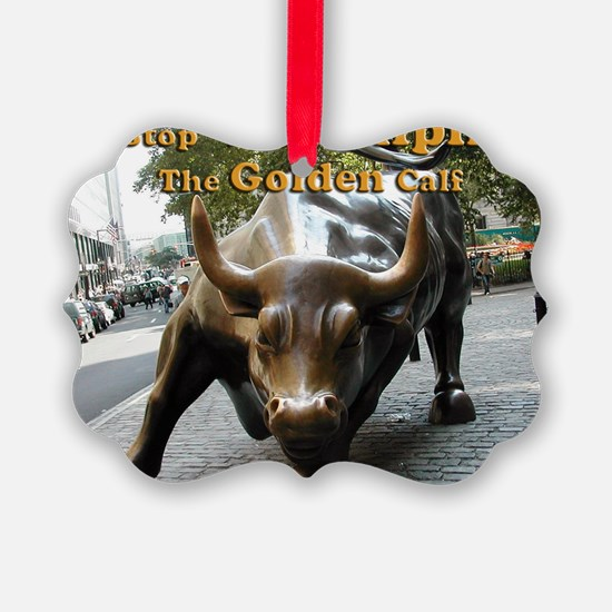 The Golden Calf Ornament