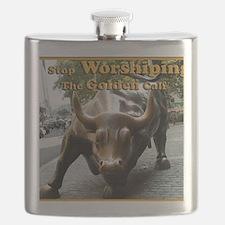 The Golden Calf Flask