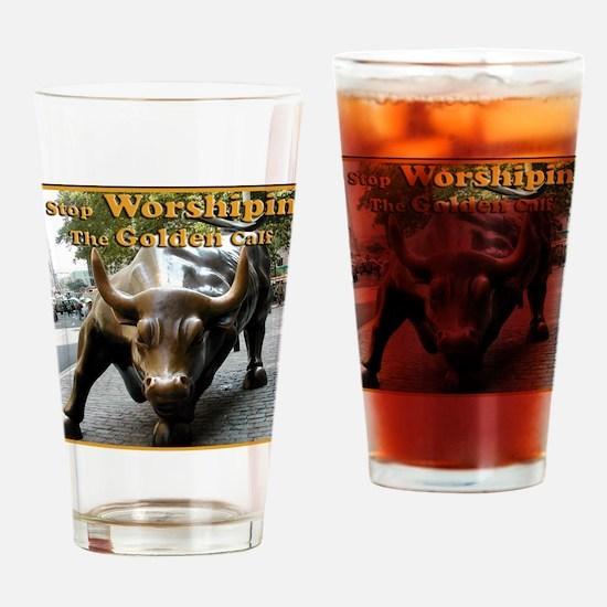 The Golden Calf Drinking Glass