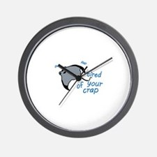 Unique Mantaray Wall Clock