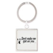 Cute Farm Square Keychain