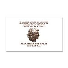 Alexander the Great Car Magnet 20 x 12
