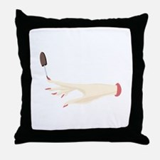 Nail Polish Throw Pillow