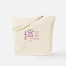 NOT JUST A CRAFT APPLIQUE Tote Bag