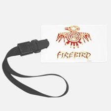 Fire Bird Luggage Tag