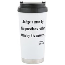 Cute Curiosity Travel Mug