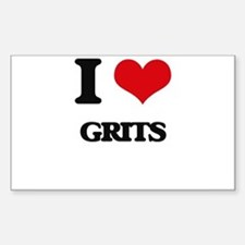 I Love Grits Decal